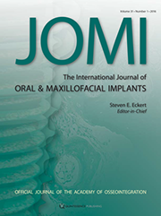Immediate Loading of Conical Connection Implants: Up-to-2-Year Retrospective Clinical and Radiologic Study